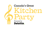 Canada's Great Kitchen Party Powered by Deloitte logo