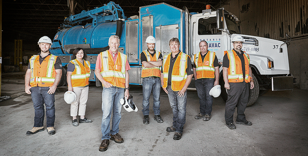Ontario Excavac leadership team